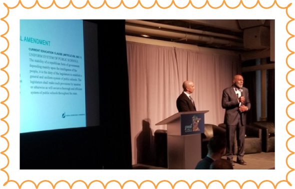 Retired Minnesota Supreme Court Justice Alan Page and Minneapolis Federal Reserve President Neel Kashkari kicked off the event, making the case to amend our state's constitution.